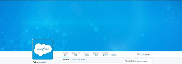 Salesforce new Twitter Layout
