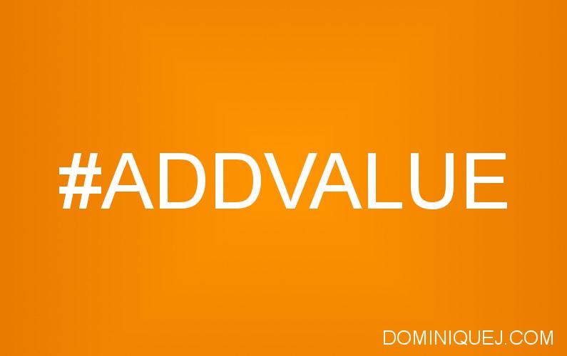 add value marketing
