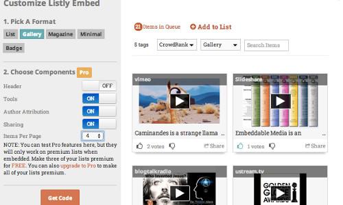 Listly WordPress plugin