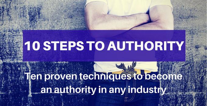 10 steps to authority - dominique jackson
