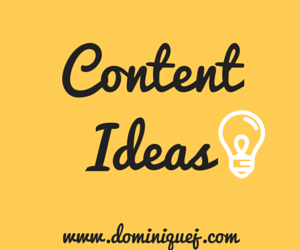 How to get content ideas