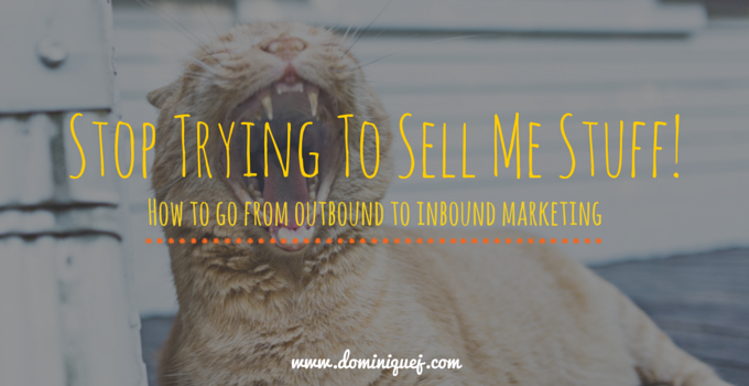 outbound to inbound marketing
