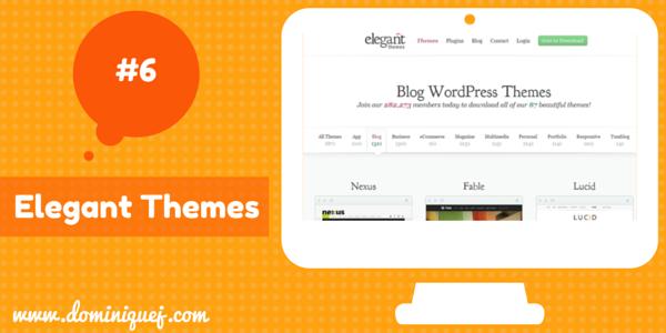 Elegant Themes WordPress Themes for bloggers