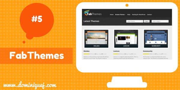 FabThemes WordPress themes for bloggers