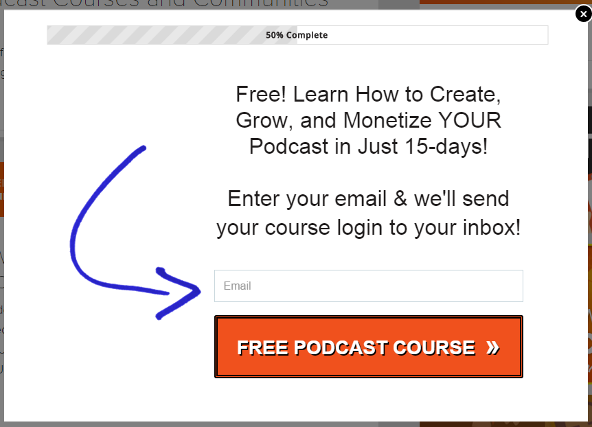 Free Course For Email Subscribers