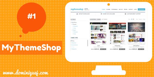 MyThemeShop WordPress Themes for bloggers