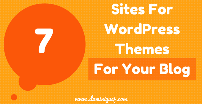 Sites For WordPress Themes for Bloggers