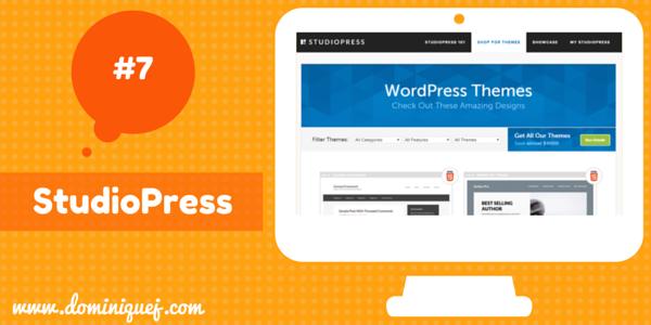 StudioPress WordPress Themes for bloggers