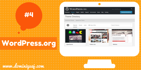 WordPress.org WP Themes for bloggers