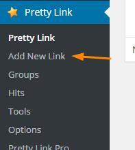how to cloak affiliate links in WordPress - Pretty Link