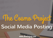Cosmo Project Social Media Publishing