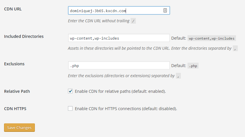 KeyCDN Review CDN Enabler Plugin