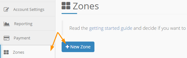 KeyCDN Review - New Zone
