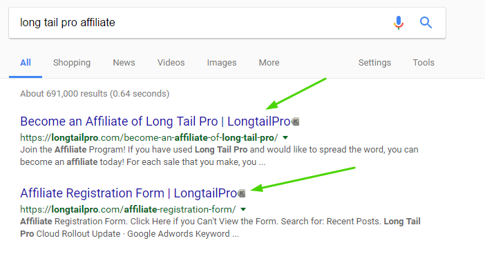 long tail pro affiliate