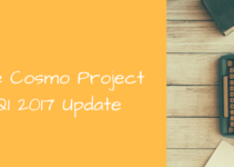 2017 Q1 Cosmo Project Update
