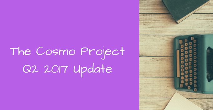 q2 cosmo project update